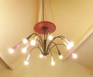 CUSTOMIZED 50's CHANDELIER